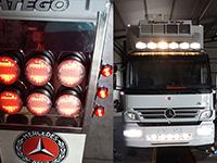 Φωτισμός λεωφορείων – φορτηγών – επιβατικών